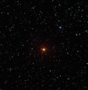 Malam itu sebuah bintang bersinar terang. Gambar ini diambil dari situs Astronomy Picture of The Day 18 desember 2008.