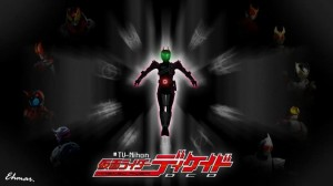 Decade and 9 Kamen Riders