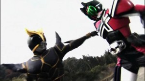 Black Kuuga Vs Decade