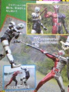 Pada movie All Riders vs. Dai-Shocker, Double akan membantu Decade untuk mengalahkan Shadow Moon
